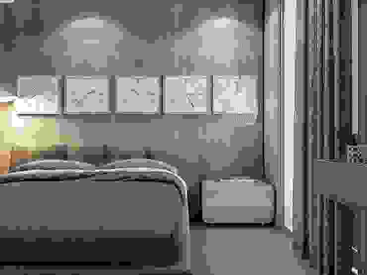 Yatak odası ANTE MİMARLIK Modern Yatak Odası