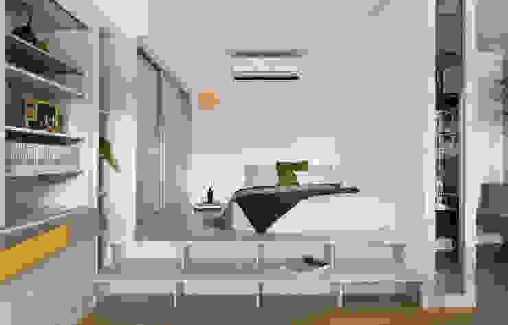 臥室 根據 邑田空間設計 隨意取材風