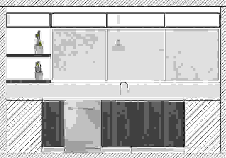 Cocina Machali de Estudio Arquitectura y construccion PR/ Remodelaciones y Diseño de interiores / Santiago, Rancagua y Viña del mar
