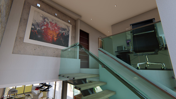 Módulo 3 arquitecturaが手掛けた階段