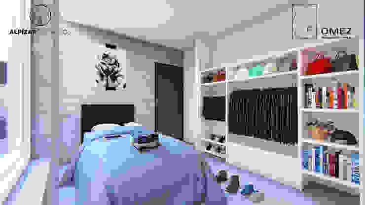GóMEZ arquitectos Small bedroom