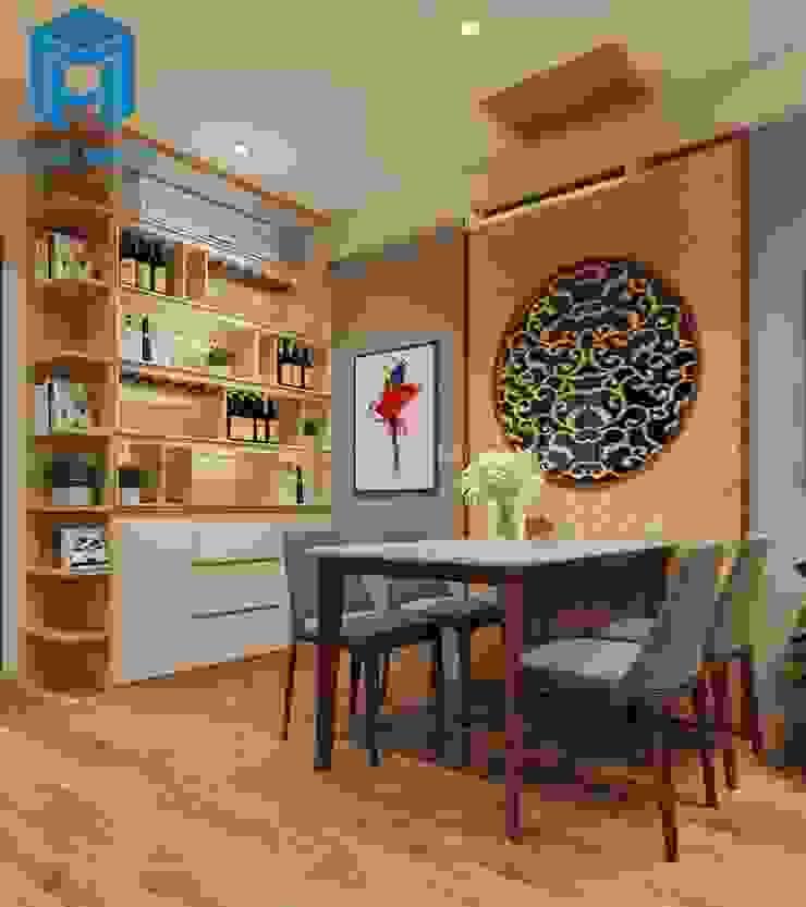 Bộ bàn ăn nhà bếp Nhà bếp phong cách hiện đại bởi Công ty TNHH Nội Thất Mạnh Hệ Hiện đại