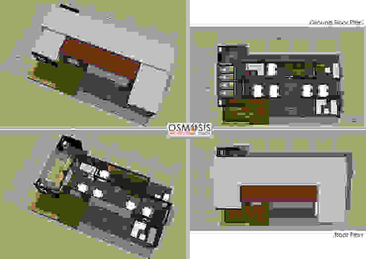 Box Cafe Ver.2: ด้านอุตสาหกรรม  โดย OSMOSIS Architectural Design, อินดัสเตรียล