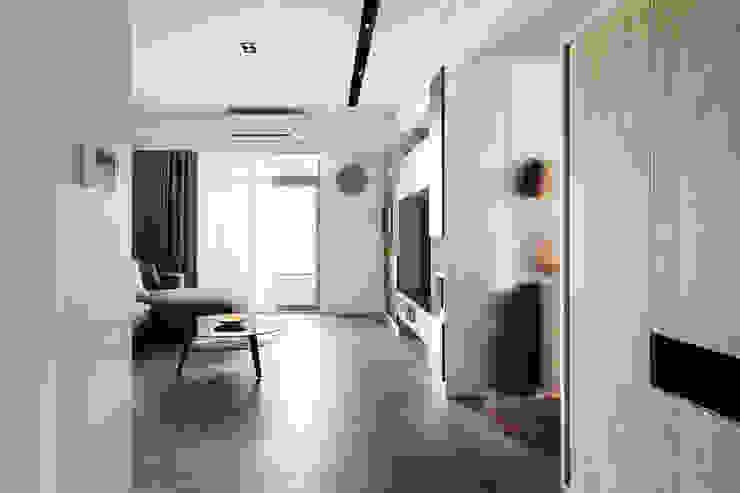 輕水模繽紛小宅 根據 東江齋空間設計 日式風、東方風