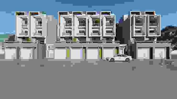 理境 臨路戶 現代房屋設計點子、靈感 & 圖片 根據 尋樸建築師事務所 現代風