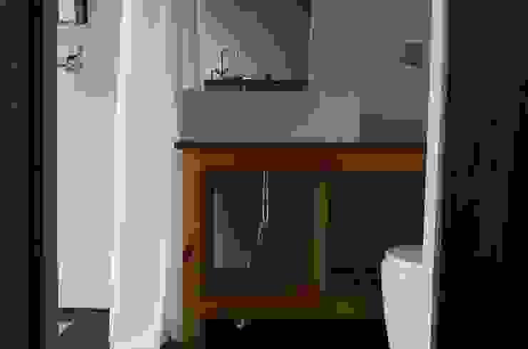 이동식주택 <q>호텔 마름모</q> 모던스타일 욕실 by 마룸 모던