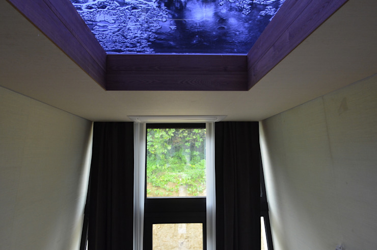 이동식주택 <q>호텔 마름모</q> 모던스타일 창문 & 문 by 마룸 모던