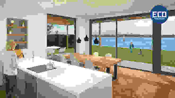 ECO architecten Cocinas de estilo moderno