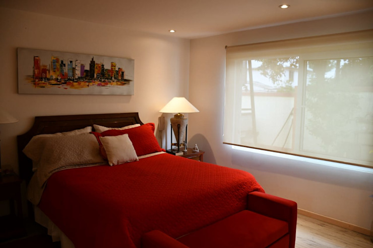 Dormitorio. Dormitorios de estilo moderno de homify Moderno