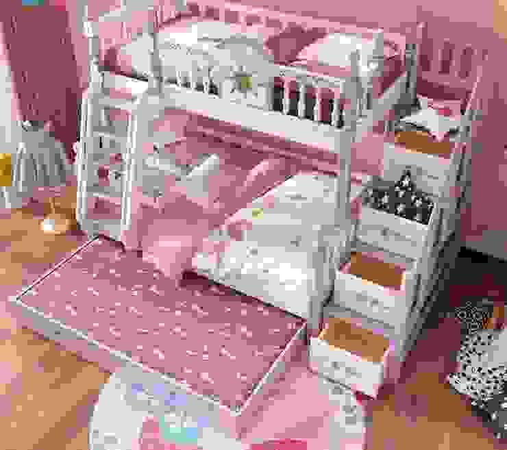 Giường tầng màu tím dành cho bé gái GTE053Giường tầng màu tím dành cho bé gái GTE053 bởi Xưởng nội thất Thanh Hải