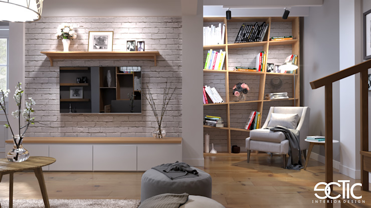 Living Room Gerlong Ruang Keluarga Modern Oleh Ectic Modern