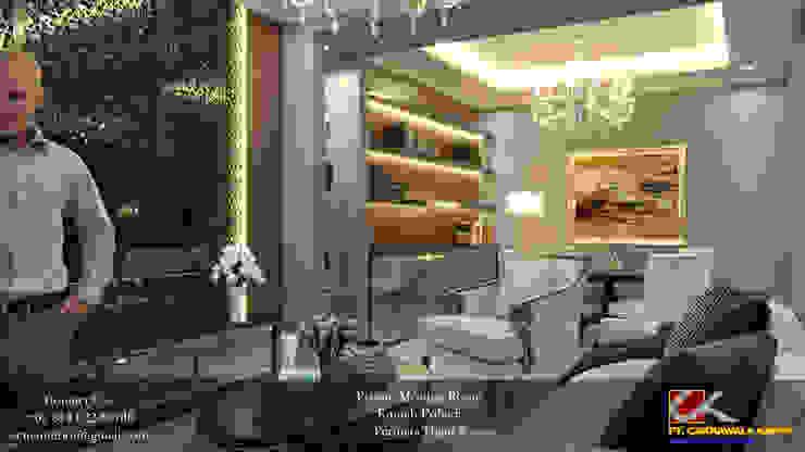 BJB - Permata Hijau Ruang Studi/Kantor Modern Oleh Ectic Modern