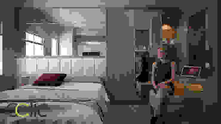 Apartemen Eston Park Tipe Studio – Jatinangor Bandung Ruang Studi/Kantor Modern Oleh Ectic Modern