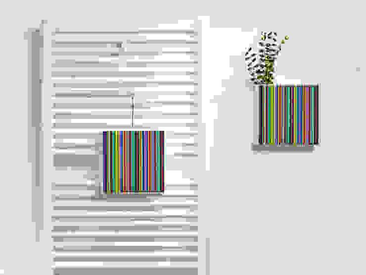 Umidificatore Hummi Total Stripes: eleganza & colore Creativando Srl - vendita on line oggetti design e complementi d'arredo Bagno moderno Ceramica