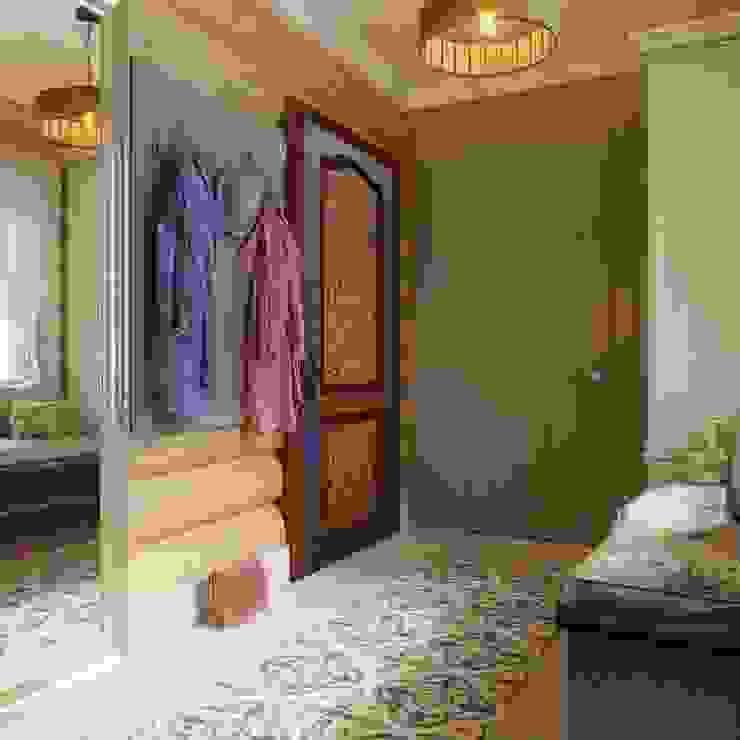 Частный дизайнер и декоратор Девятайкина Софья Rustic style corridor, hallway & stairs