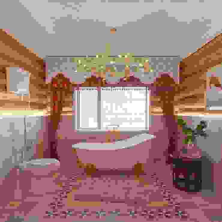 Частный дизайнер и декоратор Девятайкина Софья Rustic style bathroom