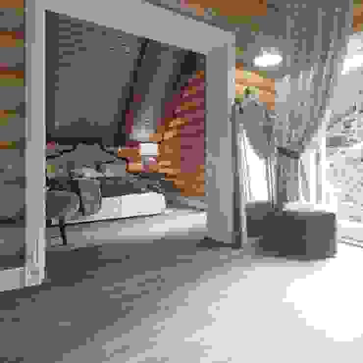 Частный дизайнер и декоратор Девятайкина Софья Rustic style bedroom