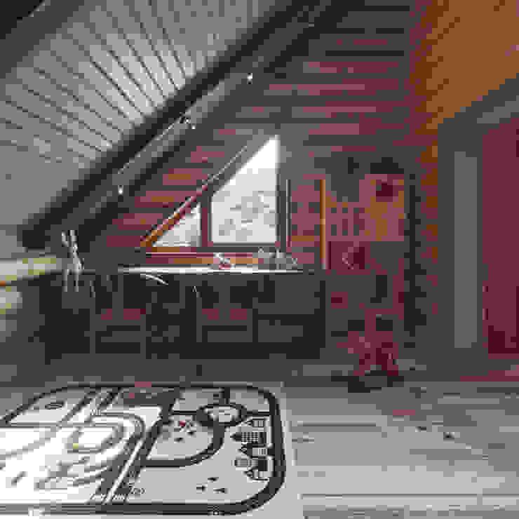 Частный дизайнер и декоратор Девятайкина Софья Rustic style nursery/kids room