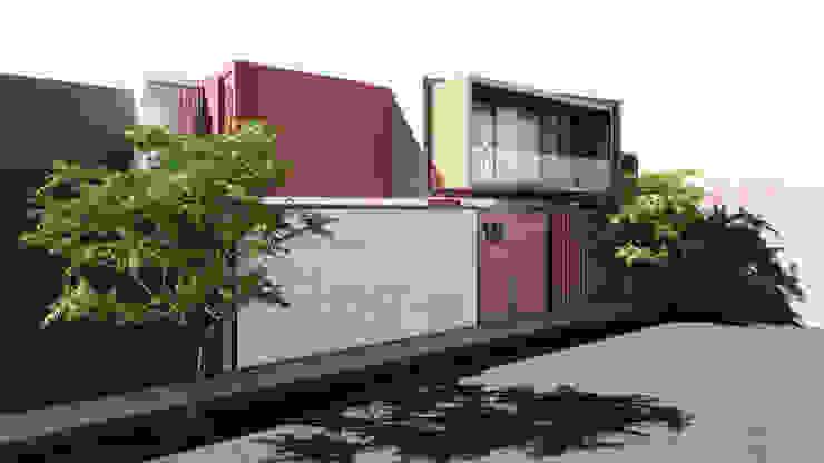 CASA ARICA - CHILE Casas modernas: Ideas, diseños y decoración de TECTONICA STUDIO SAC Moderno