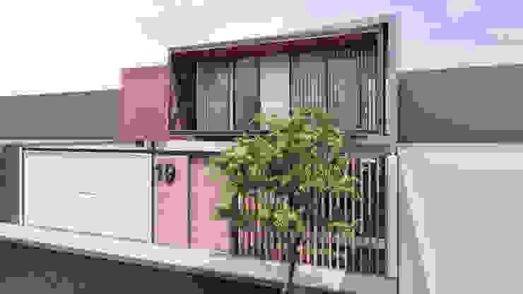 CASA ARICA – CHILE Casas modernas: Ideas, diseños y decoración de TECTONICA STUDIO SAC Moderno