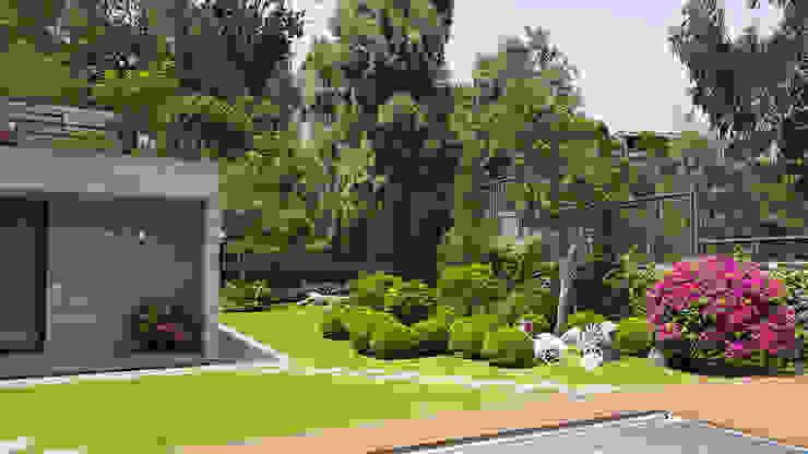 Marcia Lenz Paisajismo Modern Garden