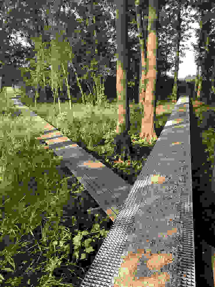 Country style garden by Andrew van Egmond (ontwerp van tuin en landschap) Country