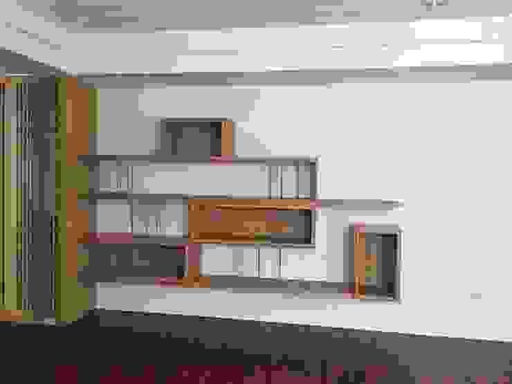 集合住宅-1 根據 houseda 現代風 木頭 Wood effect