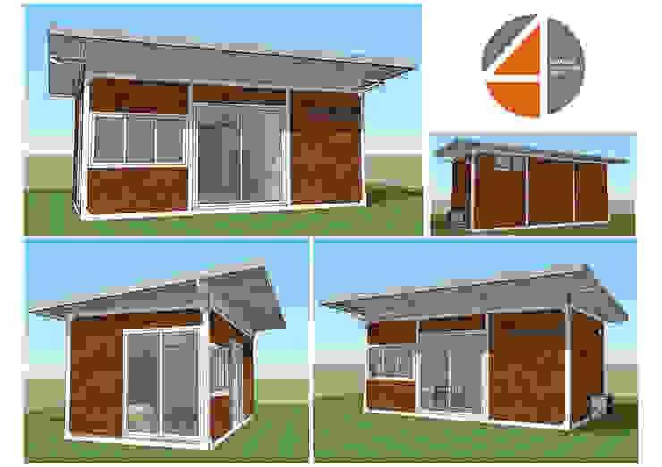 Modular Hut: ที่เรียบง่าย  โดย OSMOSIS Architectural Design, มินิมัล