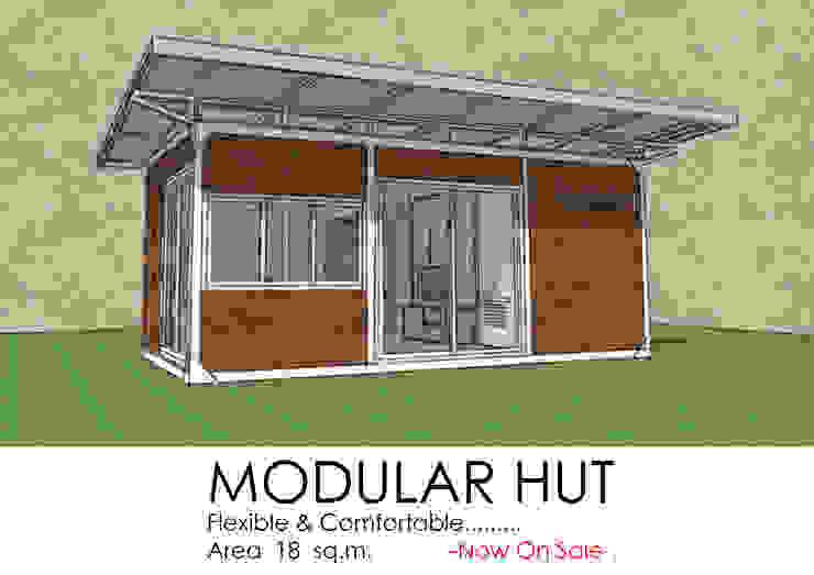 Modular Hut โดย OSMOSIS Architectural Design มินิมัล เหล็ก