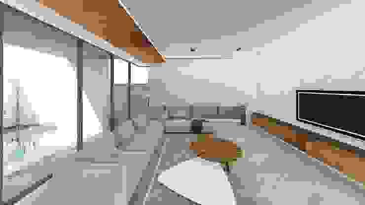 客廳-2 Modern Living Room by 尋樸建築師事務所 Modern