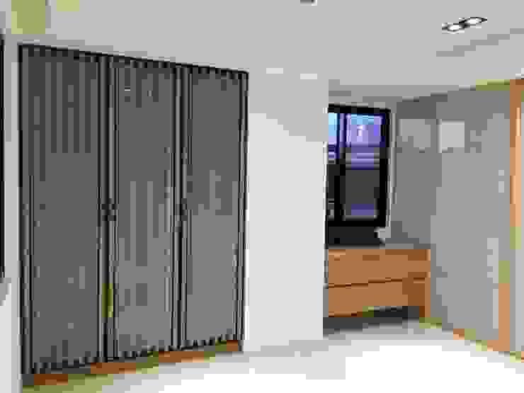 集合住宅-2 根據 houseda 現代風 木頭 Wood effect