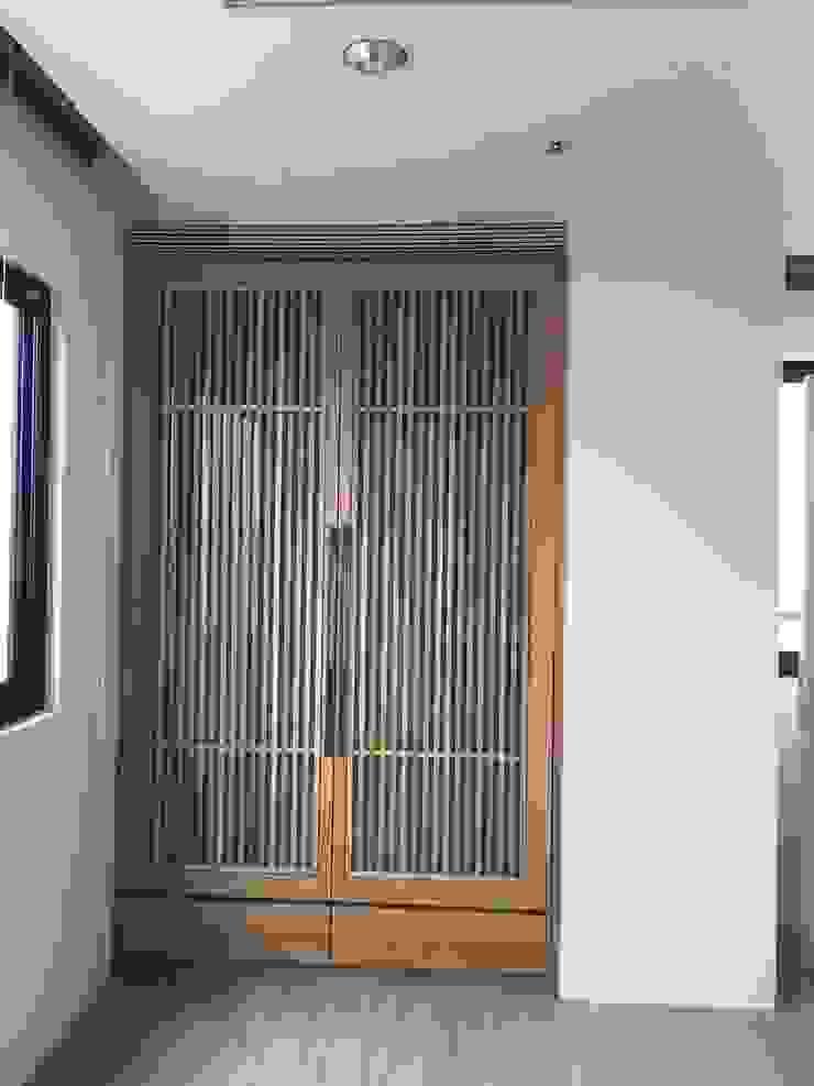 集合住宅-3 根據 houseda 現代風 木頭 Wood effect