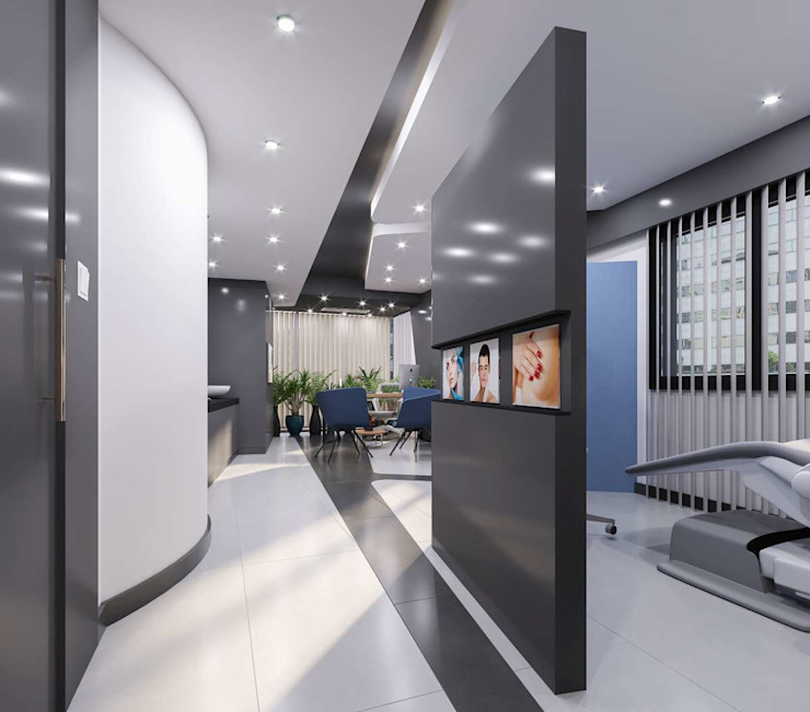 Cliniques modernes par VERO CONCEPT MİMARLIK Moderne