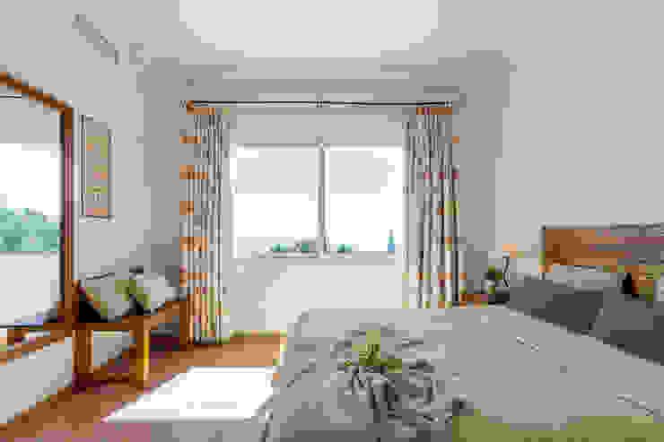 Home & Haus | Home Staging & Fotografía Mediterranean style bedroom