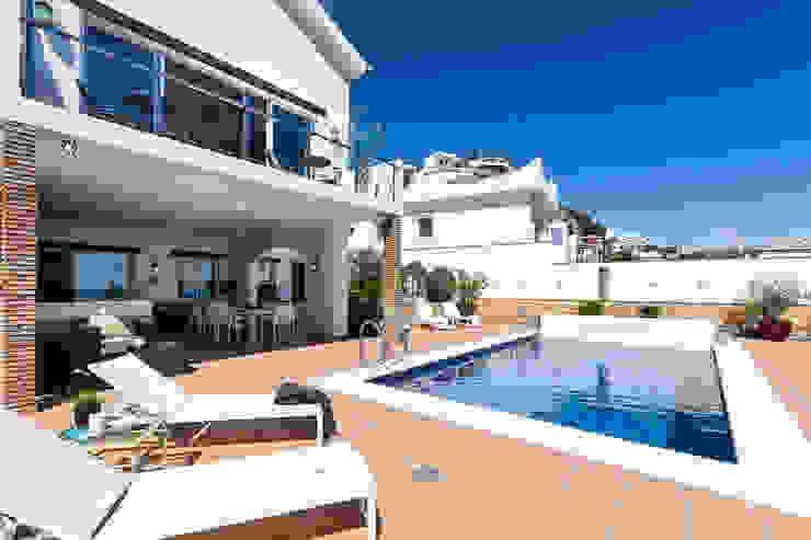 Fachada Home & Haus | Home Staging & Fotografía Balcones y terrazas mediterráneos
