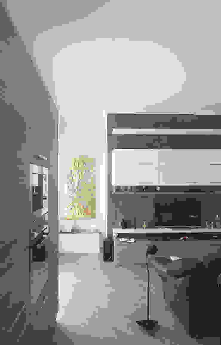 Appartamento in collaborazione con il Designer Matteo Storchio Soggiorno moderno di Studio di Architettura IATTONI Moderno