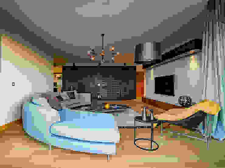 Slash Architects – :  tarz Oturma Odası,
