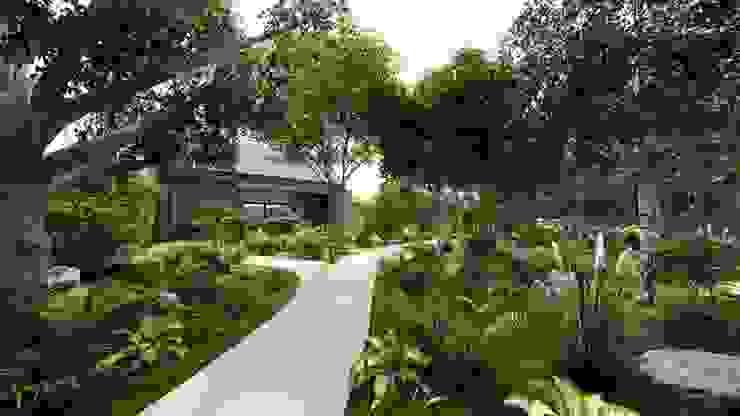 Casa Arboleda Jardines modernos de EMERGENTE | Arquitectura Moderno