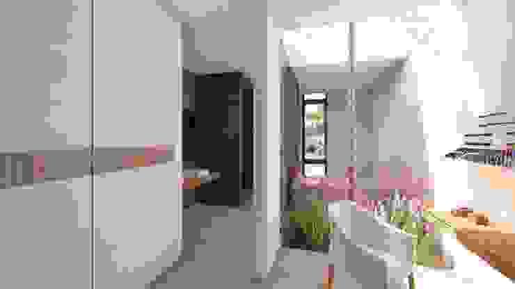 Casa Arboleda Balcones y terrazas modernos de EMERGENTE | Arquitectura Moderno