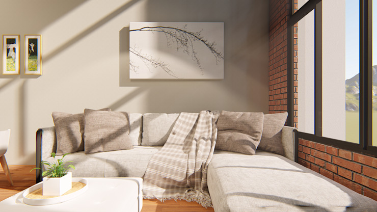 Taller NR Arquitectura Modern Living Room