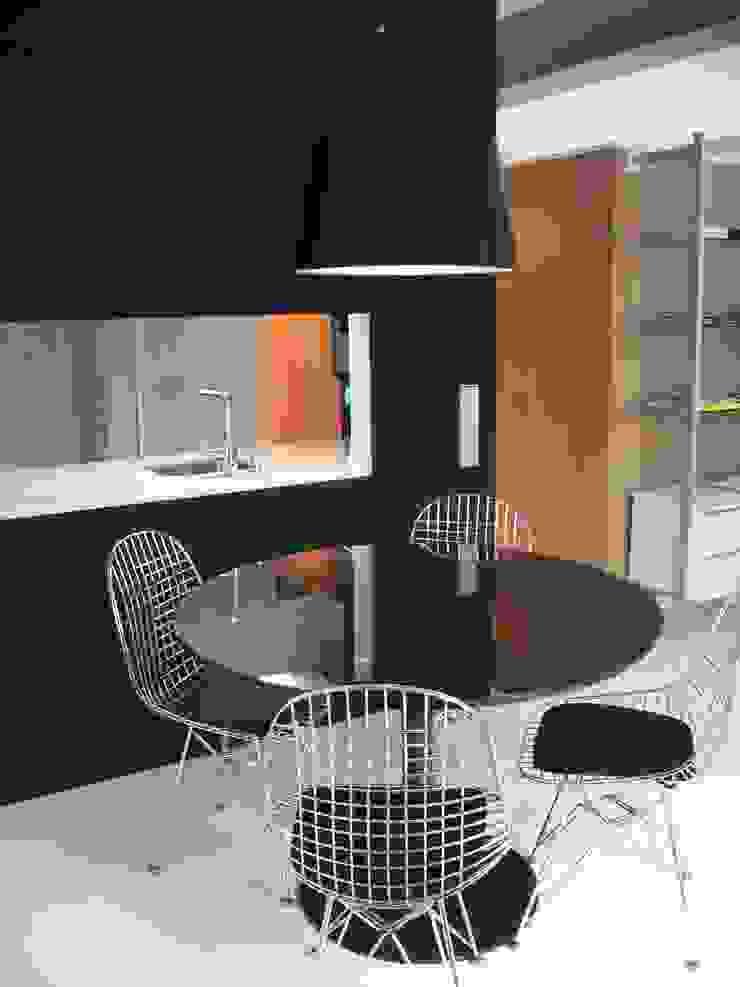 MG arquitectos Modern Dining Room