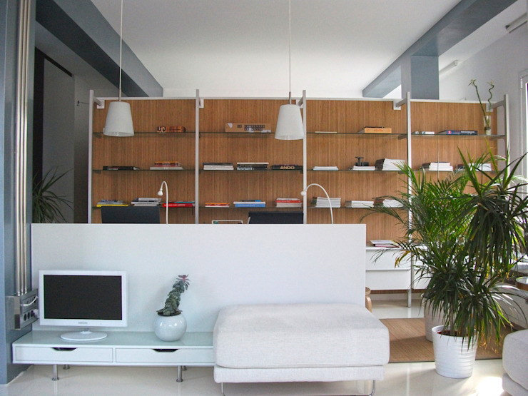MG arquitectos Modern Living Room
