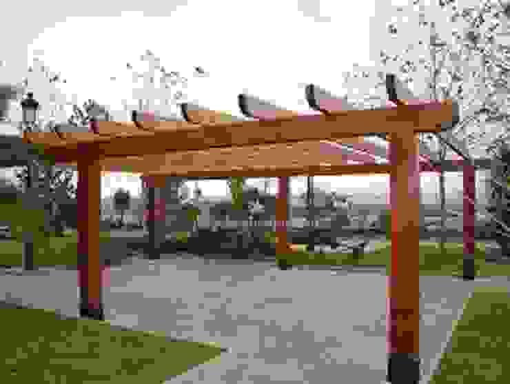 PERGOLAS EN MADERA de TECAS Y MADERAS DE COLOMBIA SAS Moderno