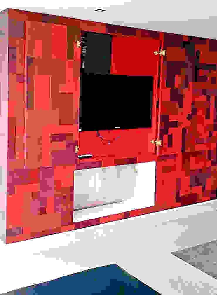 Chimeneas en Cuero Salas modernas de Cueros Arquitectónicos Moderno
