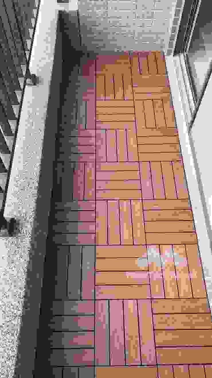 桃園─柚木色NewTechWood快組地板 根據 新綠境實業有限公司 北歐風 塑木複合材料