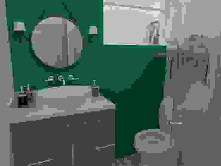 78metrosCuadrados Ванна кімната Бірюза