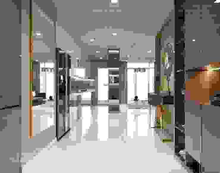 Thiết kế nội thất hiện đại căn hộ Vinhomes Central Park - ICON INTERIOR bởi ICON INTERIOR Hiện đại