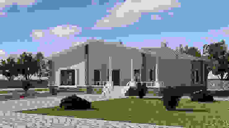 Villa Mımarıf Archıtecture Müstakil ev Beton Beyaz