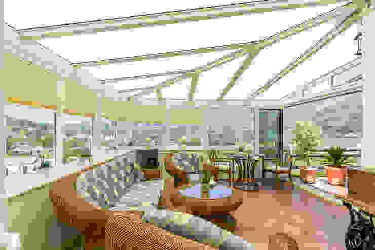 Terraza Home & Haus | Home Staging & Fotografía Balcones y terrazas de estilo rústico