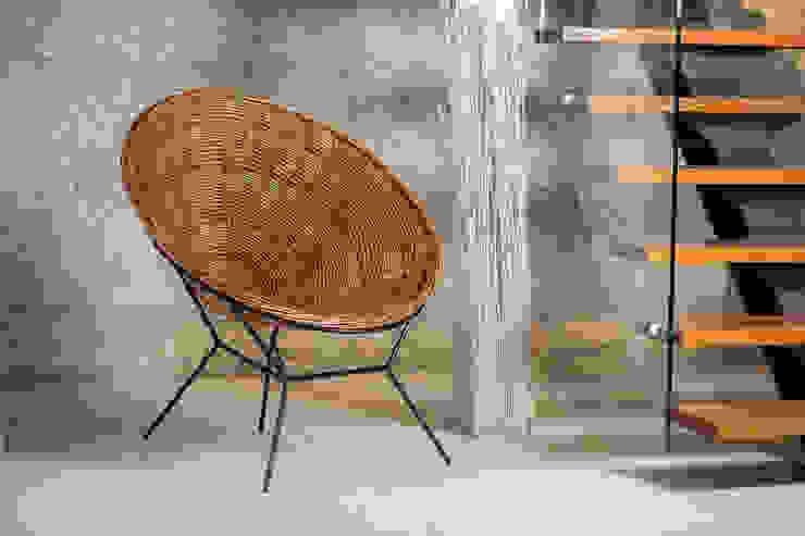 Cadeira em Vime: Salas de estar  por CRIVART - Genuine Soul, LDA